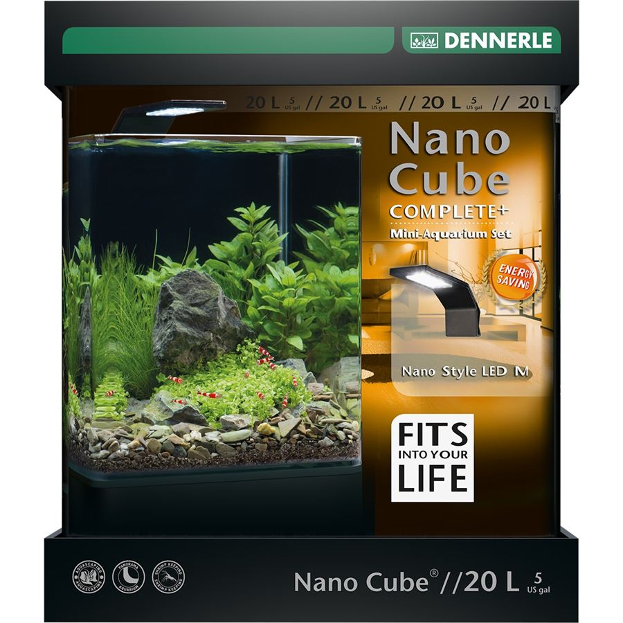 Akvarium DENNERLE NanoCube Complete+ 20L Style LED