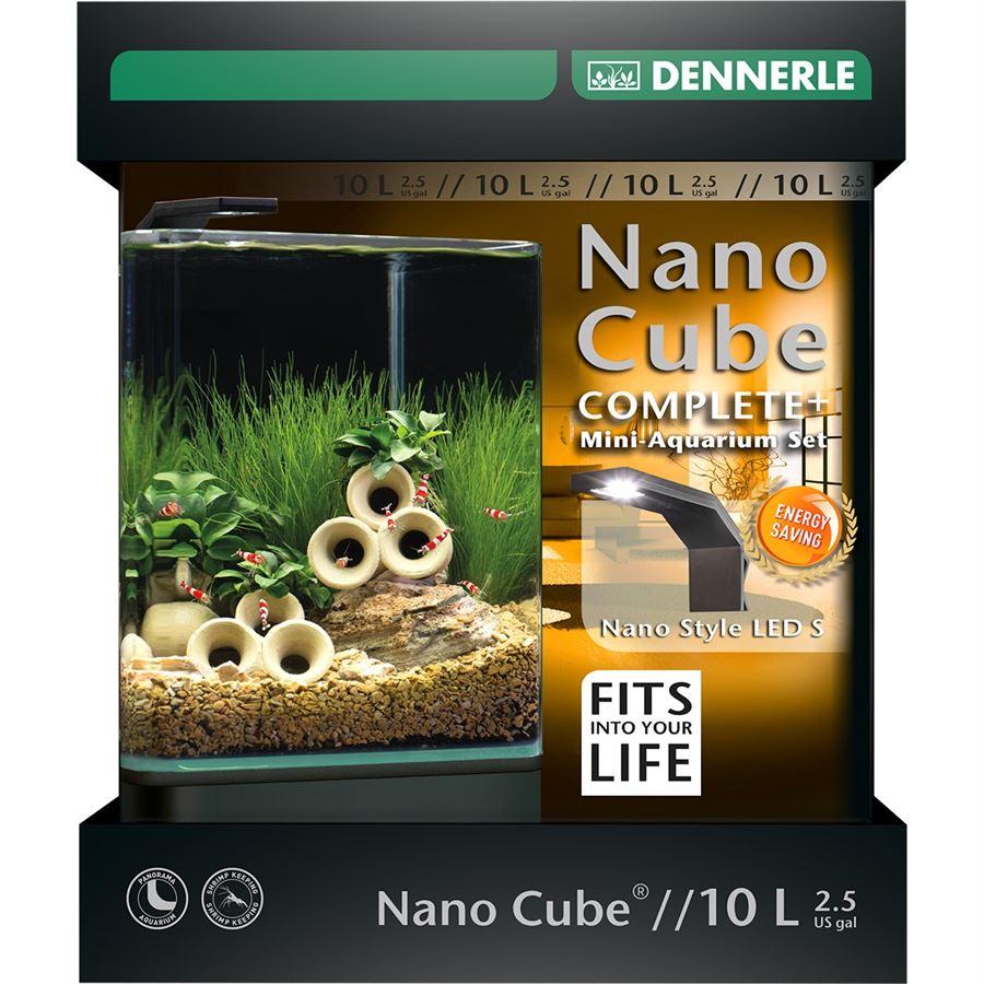 Akvarium DENNERLE NanoCube Complete+ 10L Style LED