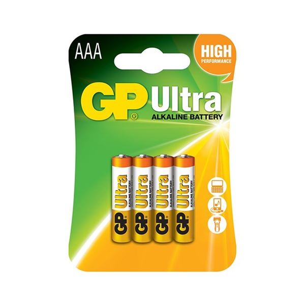 Baterie BP AAA Ultra 1,5 V 4 Ks
