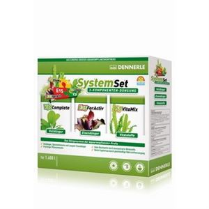 DENNERLE Hnojivo Dennerle Perfect Plant System Set 1600L