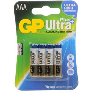 Baterie BP AAA Ultra Plus 1,5 V 4 Ks