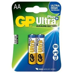 Baterie GP AA Ultra Plus 1,5 V 2 KS