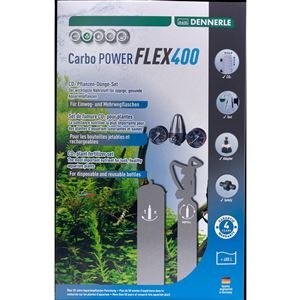 DENNERLE co2 set bez lahve Carbo POWER FLEX400
