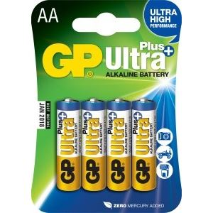 Baterie GP AA Ultra Plus 1,5 V 4 KS