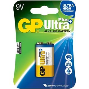 Baterie GP 9V Ultra Plus 1 KS