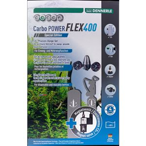 DENNERLE co2 set bez lahve Carbo POWER FLEX400 special edition