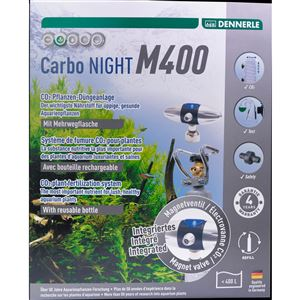 DENNERLE znovuplnitelný co2 set Carbo NIGHT M400