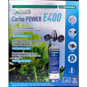 DENNERLE Jednorázový CO2 SET CARBO POWER E400