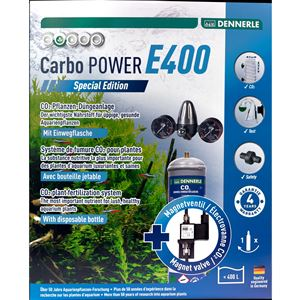 DENNERLE Jednorázový co2 set Carbo POWER E400 special edition